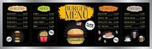 Burger Bar Menu Template - Pri...