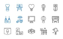 Poster Icons Set