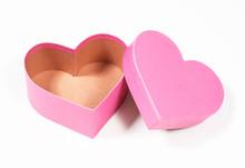 Pink Heartshaped Giftbox