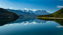 The Landscape Between Carcross...