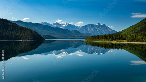 The Landscape between Carcross and Skagway in Alaska and Canada Wallpaper Mural