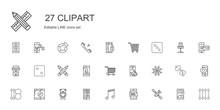 Clipart Icons Set