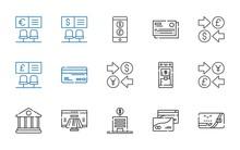 Atm Icons Set