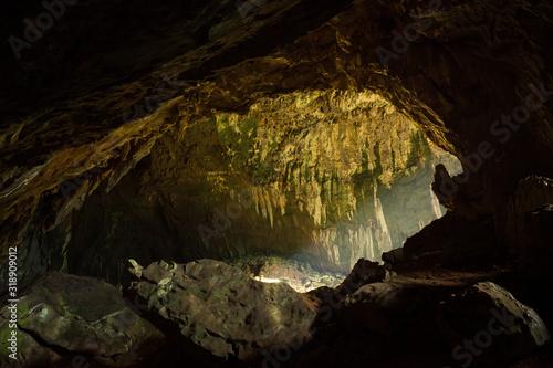 Foto View inside Deer cave in Gunung Mulu National Park