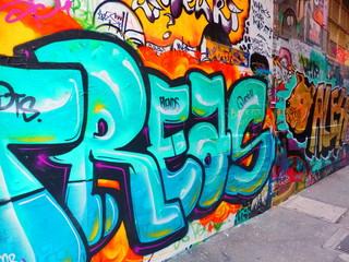 Melbourne Victoria graffiti