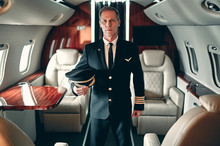 Pilot In Private Aircraft
