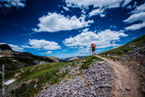 Fotografie, Obraz hiking in the mountains