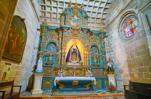 The Scenic Chapel Of San Migue...