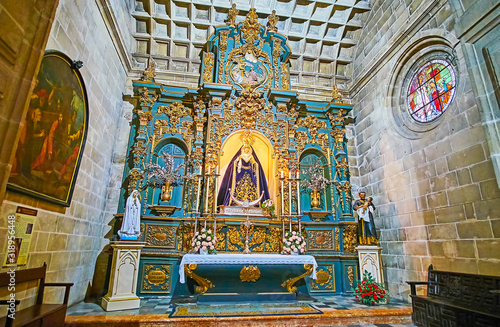 Valokuva The scenic chapel of San Miguel Church, Jerez, Spain