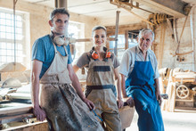 Carpenter Family Business With Generations In The Workshop