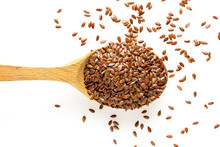 Ladle And Flaxseed