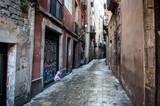 Fototapeta Uliczki - Barcelona, Catalonia/Spain; The capital of Catalonia