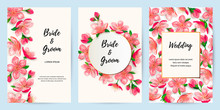 Spring Invitations With Blosso...