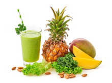 Tropical Fruits Detox Fresh Sm...