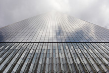 Low Angle View Of One World Trade Center Against Sky