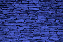 Color Year 2020 Blue Background