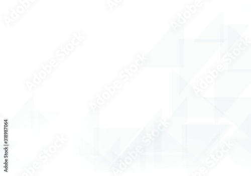 Fototapety, obrazy: Abstract white background. Can be used in cover design, book design, website background, CD cover, advertising. Vector illustration.