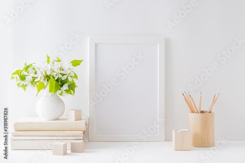Fotografie, Tablou Home interior with decor elements