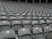 Empty Bleachers At Stadium