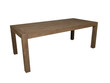 Classy Modern Luxury Wooden Table for Home Interiors Furniture in Isolated Background