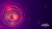 Abstract Circular Background W...