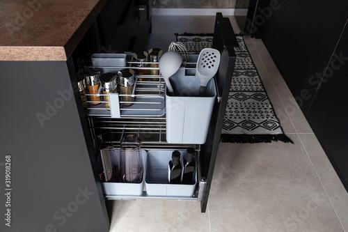 Photo Kitchen storage solution