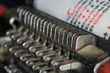 Historic Printer Mechanism.