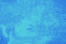Blue Texture Surface With Spot...
