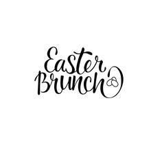 Easter Brunch - Hand Written H...