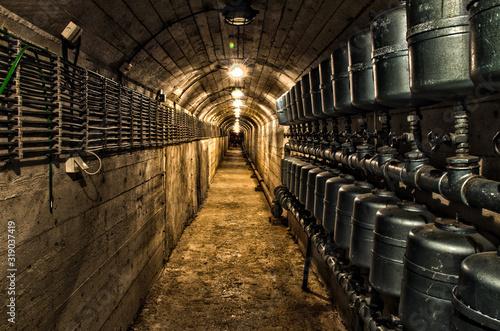 Photo Secret underground cold war bunker