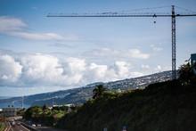 Construction Crane On Islands ...