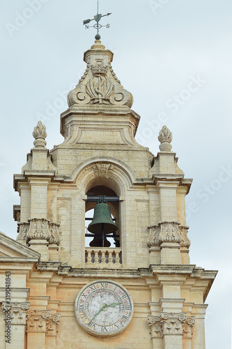 Photo Bell tower, St Paul's Cathedral, Mdina, Malta