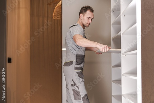 Fotografie, Tablou Closet Cabinets Contractor