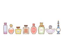 Illustration Of Perfume Bottle...