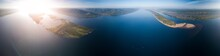 Aerial Panorama Of The River O...
