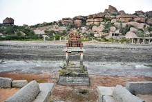 Step Well At Vitthala Temple, Hampi, Karnataka, India