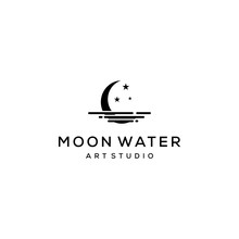 Creative Modern Crescent Moon ...