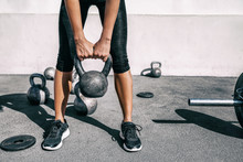 Kettlebell Weightlifting Athle...