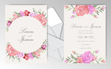 Beautiful Wedding Invitation C...