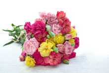 Beautiful Bouquet Of Colorful ...