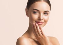 Woman Beauty Face Healthy Skin Natural Make Up