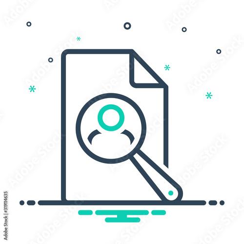 Платно mix icon for recruit