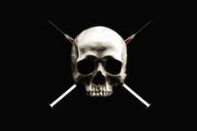 Skull And Syringes Cross Bones...