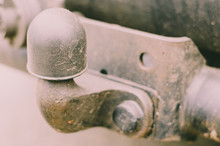 Old Tow Hitch For Towing A Tra...