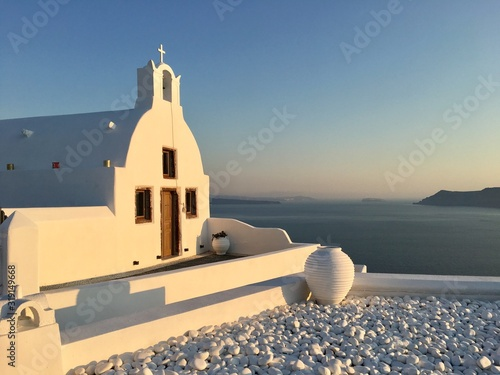Fototapeta BUILDING BY SEA AGAINST CLEAR SKY obraz