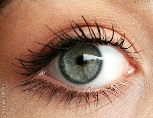 Obraz Close-Up Portrait Of Woman Eye - fototapety do salonu