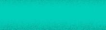 Turquoise Halftone Dots Empty ...