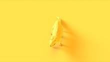 Yellow Walking Crocodile Front...