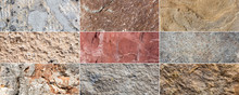 Collection Of 9 Stone Texture Backgrounds