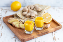 Lemon Ginger Shot